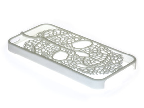 Leaf Skeleton iPhone 5 / 5s Case in White Strong & Flexible