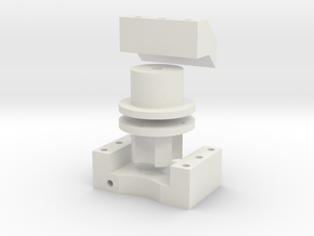 Parts for mounting a torsion spring to an AX-12A s in White Strong & Flexible