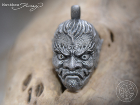 Demon pendant. in Stainless Steel