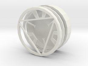 Iron man arc reactor without core in White Strong & Flexible