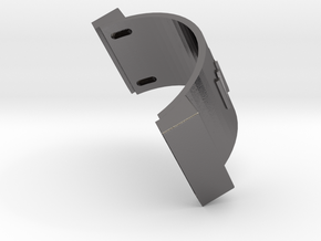CONCEPT 3.2- BACK HEAD in Polished Nickel Steel