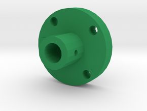Disc Axle Fixer in Green Strong & Flexible Polished