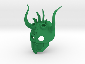 Kanohi Olisi - Mask of Alternate Futures (Bionicle in Green Strong & Flexible Polished