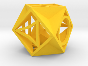 Dice139 in Yellow Strong & Flexible Polished
