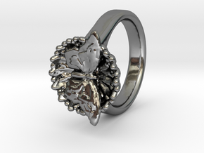 Swallowtail Butterfly Ring in Premium Silver