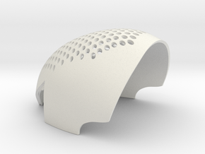 ASM2 2-pc-faceShell-TOP ONLY in White Strong & Flexible