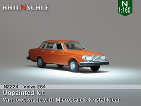 Volvo 264 GL (N 1:160) in Frosted Ultra Detail