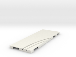 P-65stp-straight-rh-curve-inner-145r-100-pl-1a in White Strong & Flexible