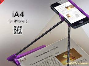 iA4 for iPhone 5 in Purple Strong & Flexible Polished