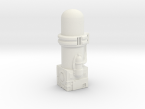 Resizing Chamber in White Strong & Flexible