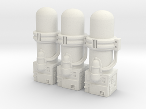 Resizing Chamber Section in White Strong & Flexible