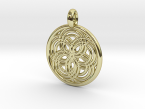 Carpo pendant in 18K Gold Plated