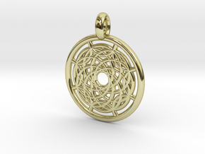 Hermippe pendant in 18K Gold Plated