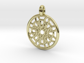 Mneme pendant in 18K Gold Plated