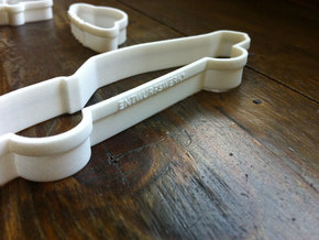 Mustang Cookie Cutters  in White Strong & Flexible Polished