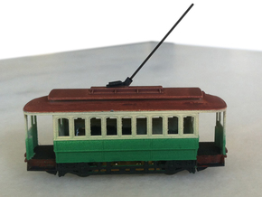 Sydney C Class Tram N Scale 1:148 in Frosted Ultra Detail