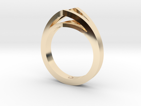 Split Shank 1 in 14k Gold Plated
