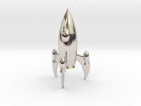 Knight - [2,1] Stellar in Rhodium Plated