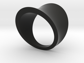Arc ring in Black Strong & Flexible
