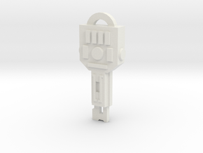 idw Vector Sigma key in White Strong & Flexible