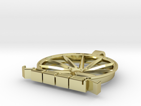 Vossen Ghetto CVT Pendant in 18k Gold Plated