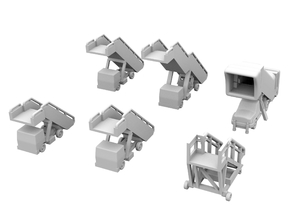 1:500 - Airstairs_v1,2,3,4,5 & 6 [x1] in Frosted Ultra Detail