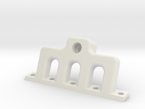 HD Intake or Exhaust Manifold (buy 2) in White Strong & Flexible