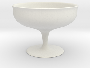 Simple Cup (7 cm height) in White Strong & Flexible