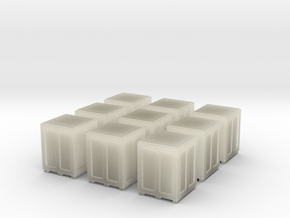 High Crates for 6mm, 1/300 or 1/285 in Transparent Acrylic