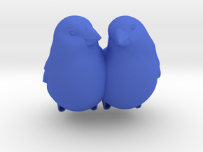 #BFF - Birdly feathered Friends in Blue Strong & Flexible Polished