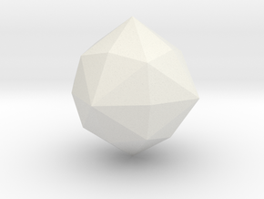 Hexakisoctahedron in White Strong & Flexible