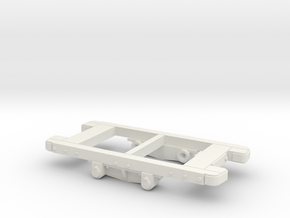 Gn15 Sand Hutton Wagon Chassis  in White Strong & Flexible