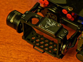 TBS Discovery PRO GoPro3/4 Gimbal Frame V2 in Black Strong & Flexible
