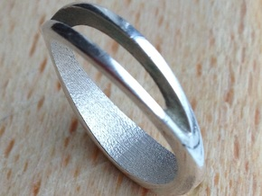 Ring Emmie One in Polished Silver
