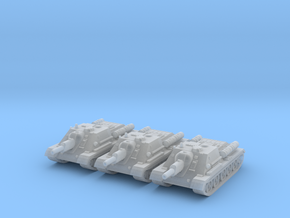 6mm SU-122 SPG in Frosted Ultra Detail