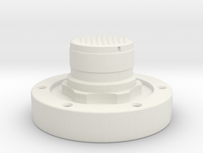 Apollo Scaled Electrical Connector for Revell Man  in White Strong & Flexible