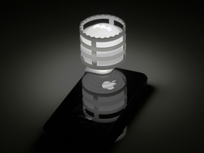 Lightclip: Batman, iPhone 5/5s in White Strong & Flexible