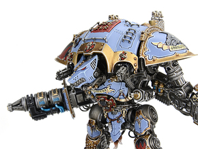 Iron Wolf head compatible w/ Imperial Knight Titan in Frosted Ultra Detail