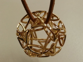 Pendant Dode in 18K Gold Plated