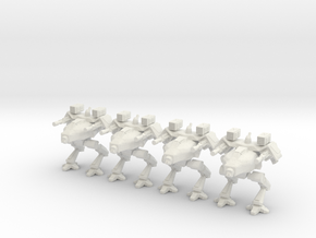 Walker Platoon 10mm  in White Strong & Flexible