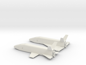1/400 MCCALL EARLY SPACE SHUTTLE CONCEPTS in White Strong & Flexible