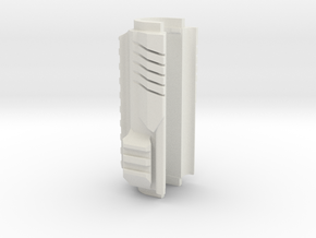Airsoft AK Upper Handle in White Strong & Flexible