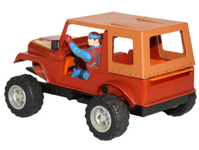 M.A.S.K. Gator Convertible Soft Top in White Strong & Flexible Polished