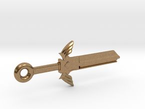 Zelda Master Sword House Key Blank - KW11/97 in Raw Brass