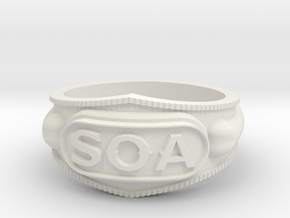 Sons of Anarchy ring in White Strong & Flexible