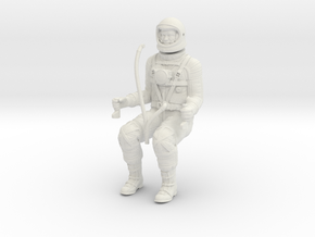 Mercury Astronaut / 1:12 in White Strong & Flexible