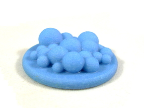 Foam Token, Flash Point Firefighting Foam in Full Color Sandstone