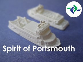 Gosport Ferries (1:1200) in Frosted Ultra Detail