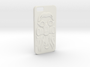 Irish Mike Gasmask - iPhone 6 Case in White Strong & Flexible