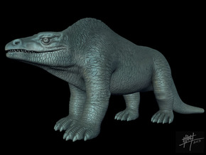 Megalosaurus retro 1/72 in White Strong & Flexible